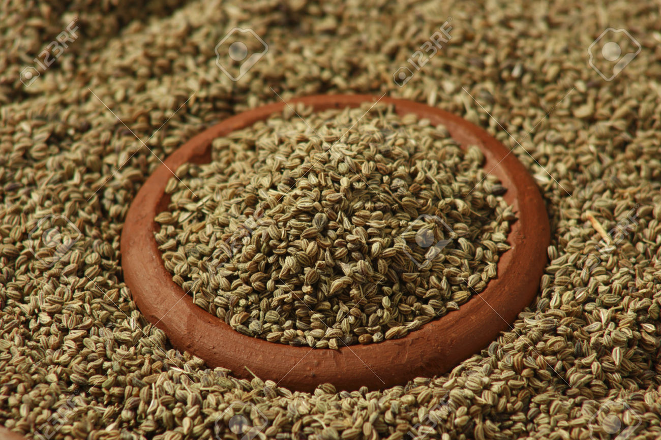 Ajwain or Carom Seeds is an uncommon spice used for flavouring food in India